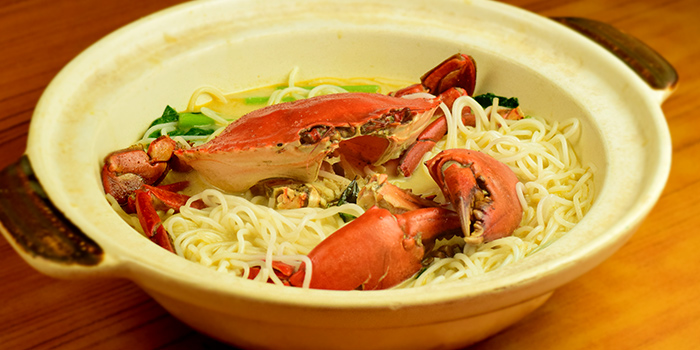 Crab Noodles from Melben Seafood Restaurant at Market Square @ Downtown East E!Avenue in Pasir Ris, Singapore
