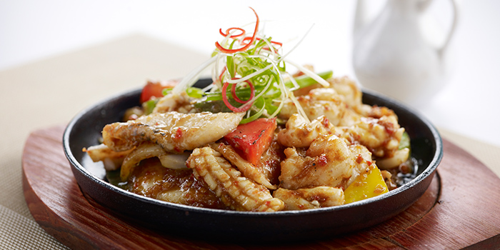 BBQ Sambal Seafood on Hotplate from Oceanspoon Dining (Sembawang Country Club) in Sembawang, Singapore