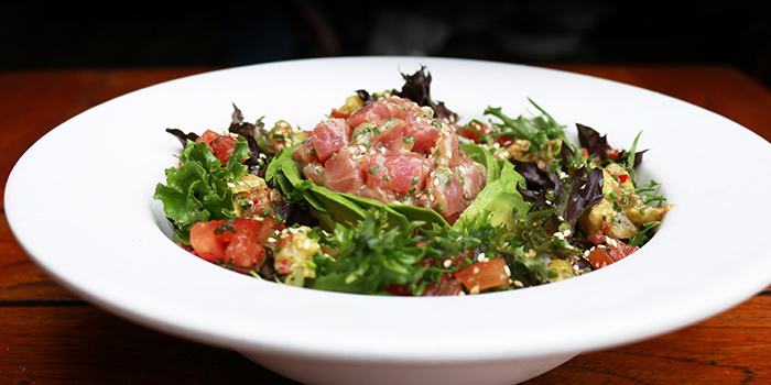 Ahi Avo Salad from Da Paolo Pizza Bar in Holland Village, Singapore