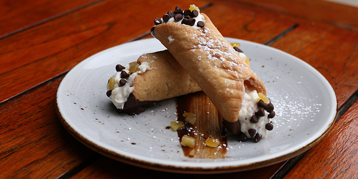 Cannoli Da Paolo from Da Paolo Pizza Bar in Holland Village, Singapore