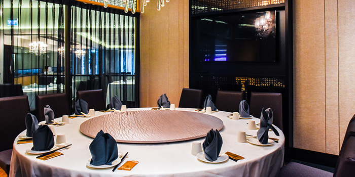 Interior of Singapore Seafood Republic at Resorts World Sentosa in Sentosa, Singapore