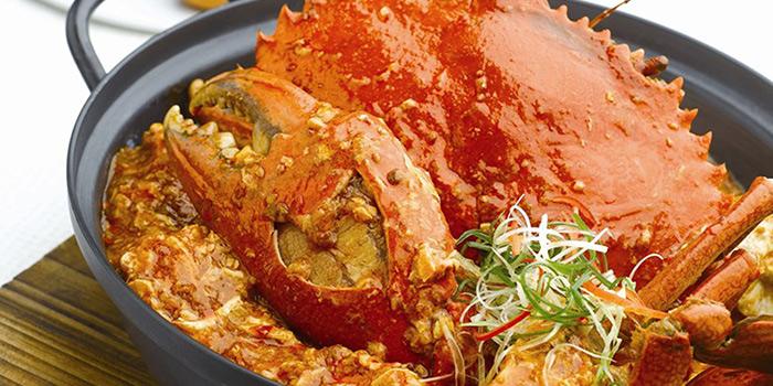 Chilli Crab from Singapore Seafood Republic at Resorts World Sentosa in Sentosa, Singapore