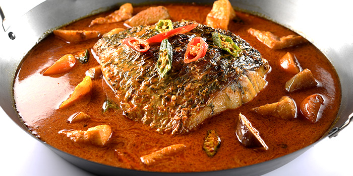 Fish Head Curry from San Yuan Ge at IMM in Jurong, Singapore