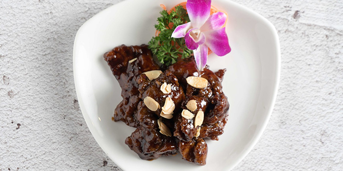 Fried Pork Ribs with Red Wine Sauce from San Yuan Ge at IMM in Jurong, Singapore