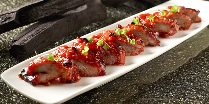 Barbecued Pork from Shang Palace in Shangri-La Hotel in Orchard, Singapore