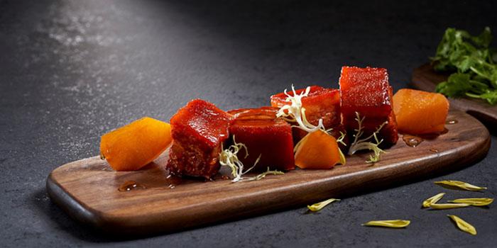 Jiang Nan Wok Braised Black Marble Pork from Shang Social in Changi, Singapore