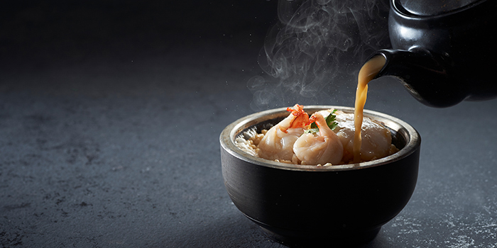 Seafood Broth Rice from Shang Social in Changi, Singapore