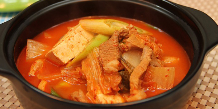 Pork Belly Kimchi Soup from Sikdang in Tanjong Pagar, Singapore