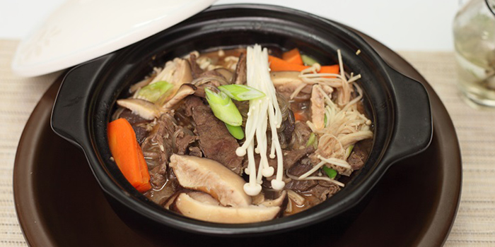 Soy Marinated Beef & Vegetables from Sikdang in Tanjong Pagar, Singapore