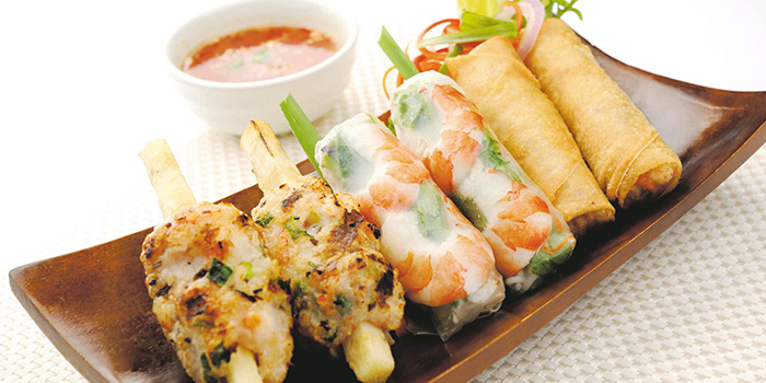 Mixed Appetizer from So Pho (Changi Airport T3) in Changi, Singapore