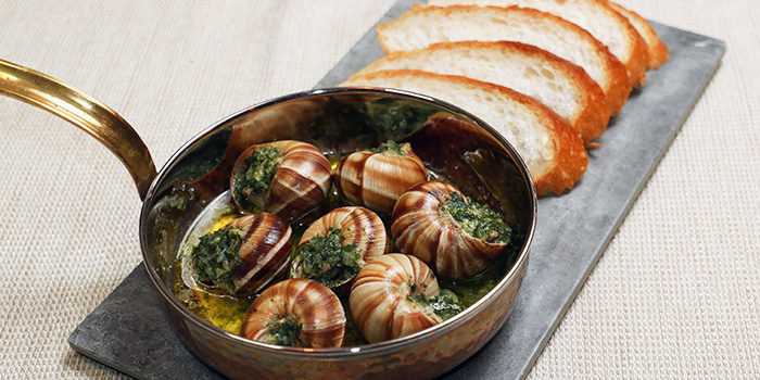 Escargot from TANOSHII in Orchard, Singapore