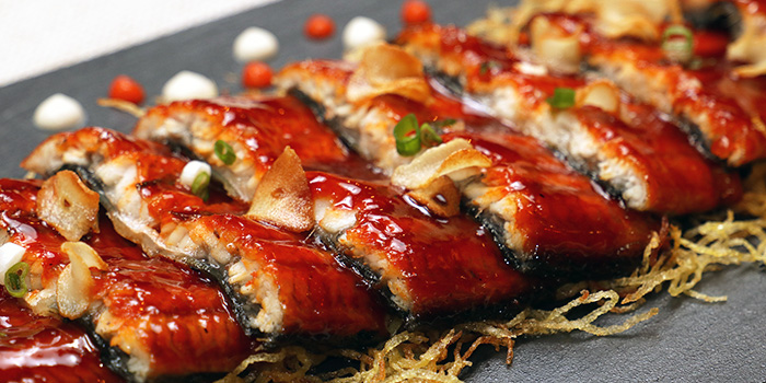 Grilled Eel from TANOSHII in Orchard, Singapore
