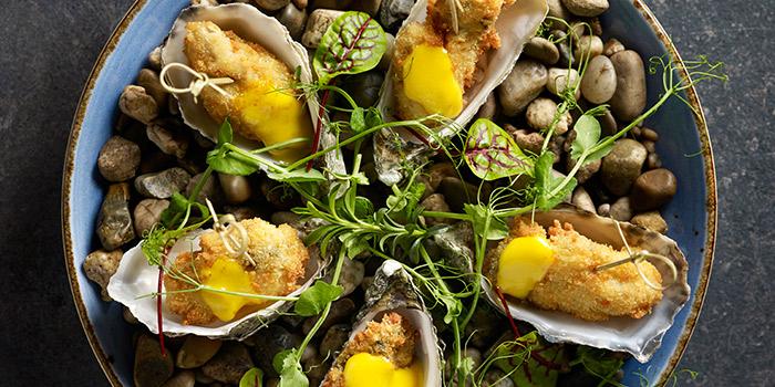 Oyster Shell from TXA Pintxo Bar at The Alkaff Mansion in Telok Blangah, Singapore