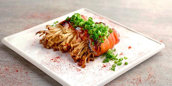Gourmet Enoki Roll from Bee Cheng Hiang Grillery in Serangoon, Singapore