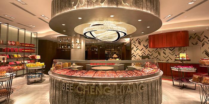 Interior of Bee Cheng Hiang Grillery in Serangoon, Singapore