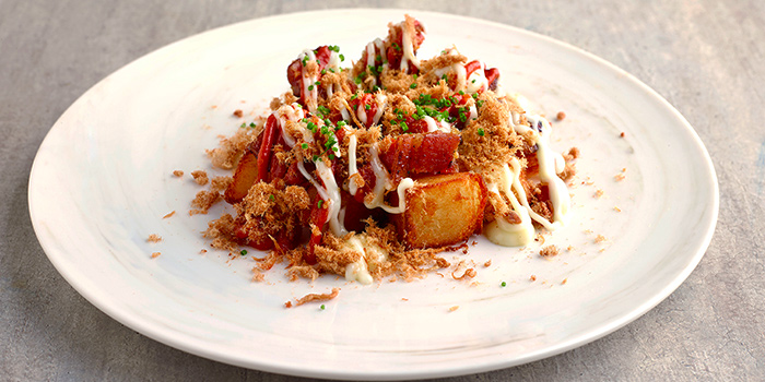 Patatas Bravas from Bee Cheng Hiang Grillery in Serangoon, Singapore