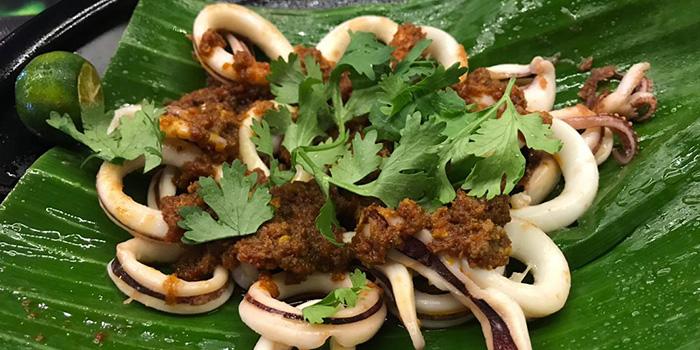 Sambal Sotong from The Tribe Restaurant Tavern in Yishun, Singapore