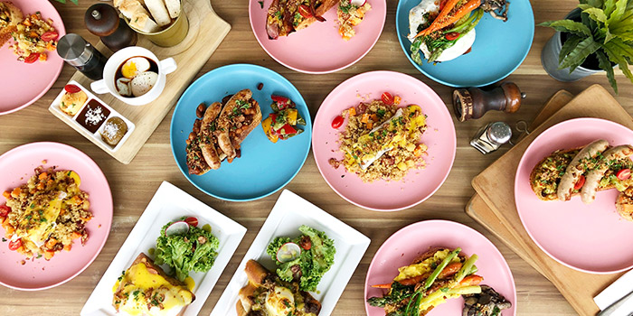 Brunch Selection from W39 Bistro & Bakery in West Coast, Singapore