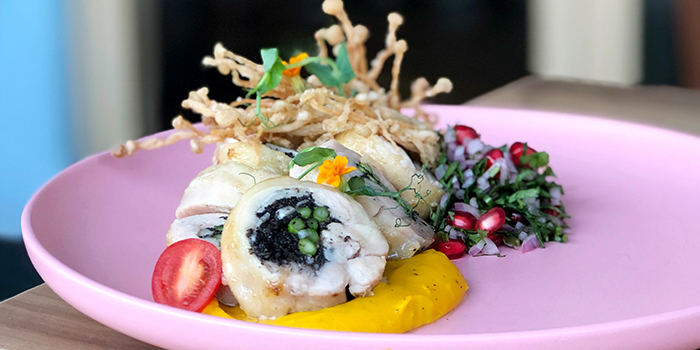 Chicken Roulade from W39 Bistro & Bakery in West Coast, Singapore