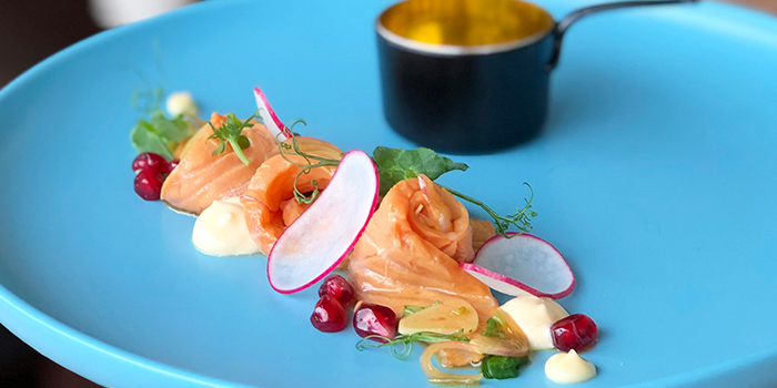 Salmon Ceviche from W39 Bistro & Bakery in West Coast, Singapore