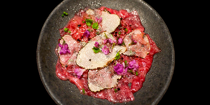 Carpaccio from Wagyu Omakase by Ayumu in Orchard, Singapore
