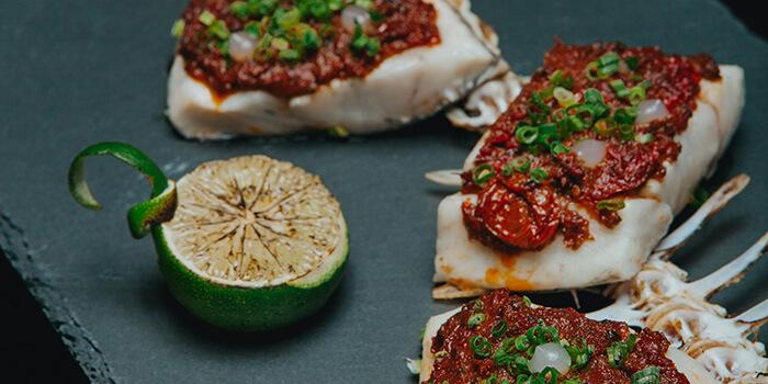 Dish at Seasalt Seminyak