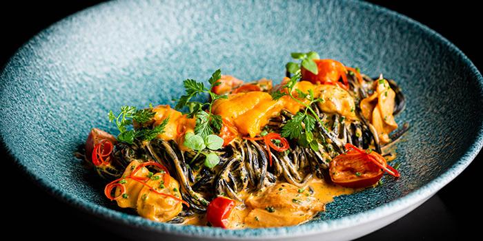 Sea Urchin Tagliolini, AHA Restaurant & Bar, Central, Hong Kong