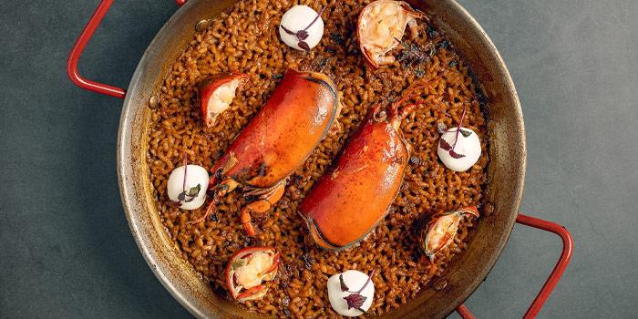 Seafood Paella, The Optimist, Wan Chai, Hong Kong