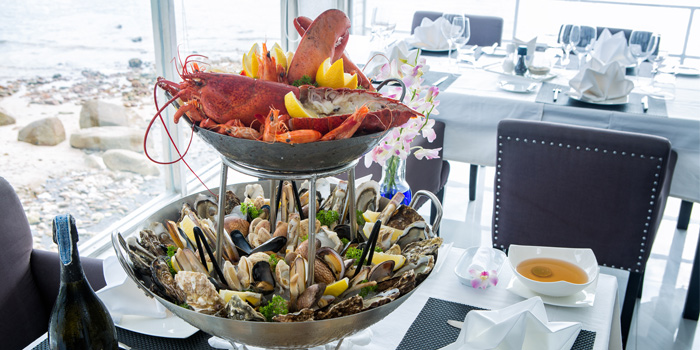 Seafood Platter from White Box Restaurant in Patong, Kathu, Phuket, Thailand