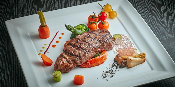 Sirloin Steak, Monkey Cafe, Wan Chai, Hong Kong