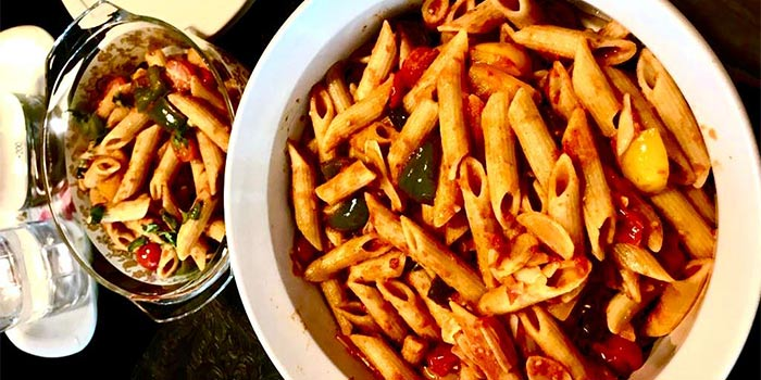 Spicy Penne Pasta at KALTURE Cafe & Resto