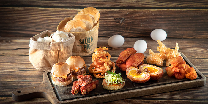 Snack Platter, The Salted Pig, Sha Tin, Hong Kong