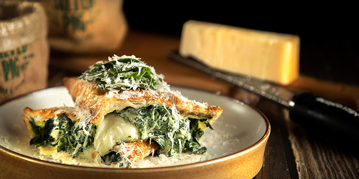 Spinach Puff Pastry, The Salted Pig, Sha Tin, Hong Kong