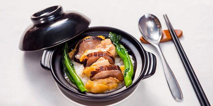 Steamed Rice with Chicken and Chinese Black Mushroom, TYFUN Dim Sum, Causeway Bay, Hong Kong