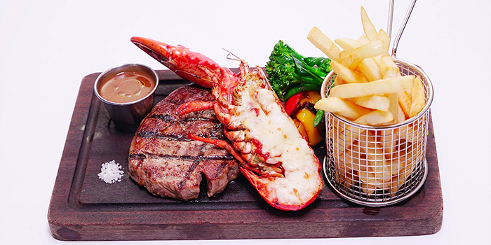 Surf n Turf, Al Dente (Harbour Road), Wan Chai, Hong Kong