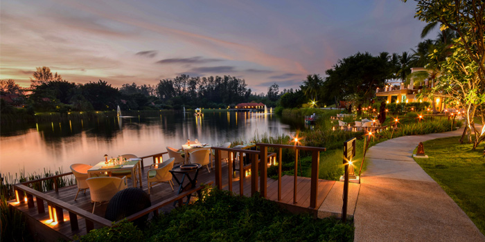 View of The Watercourt in Cherngtalay, Phuket, Thailand