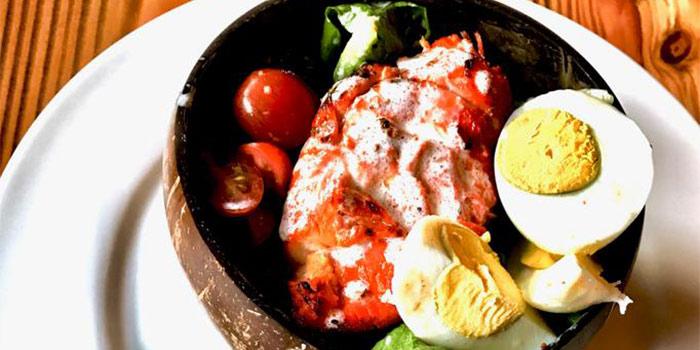 Tikka Caesar Salad with Yoghurt Dressing  at KALTURE Cafe & Resto