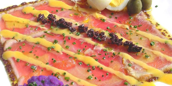 Tuna Carpaccio, Gaia Ristorante, Sheung Wan, Hong Kong