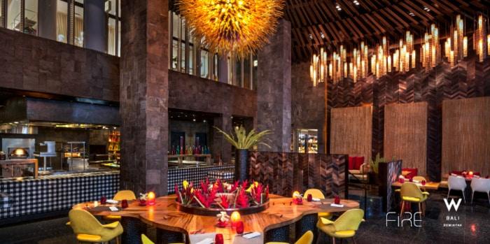Interior 3 at FIRE (W Bali-Seminyak)