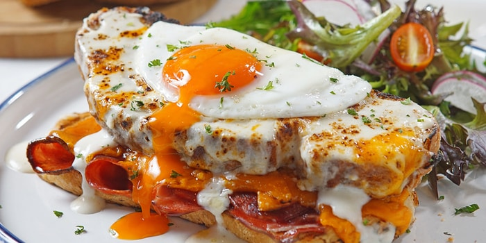 Croque Madame at Social Affair (Mall Kelapa Gading)