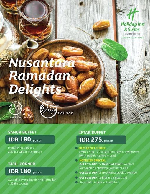 Pay 3 Get 4 Ramadhan Promo   Chope