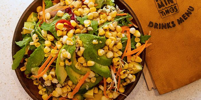 Corn Avocado Salad, Rummin