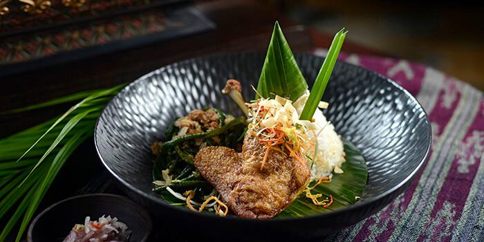 Food Menu from Andrawina Restaurant, Gianyar, Bali