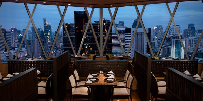 Ambience of Yamazato at The Okura Prestige Bangkok Hotel 57 Witthayu Rd, Lumphini, Pathum Wan Bangkok