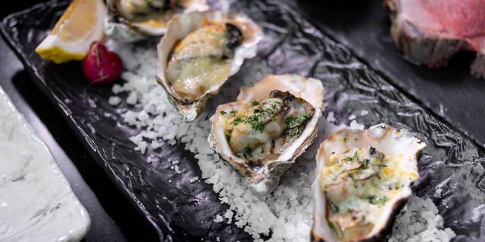 Baked Oysters from Up & Above at The Okura Prestige Bangkok Hotel 57 Witthayu Rd, Lumphini, Pathum Wan Bangkok