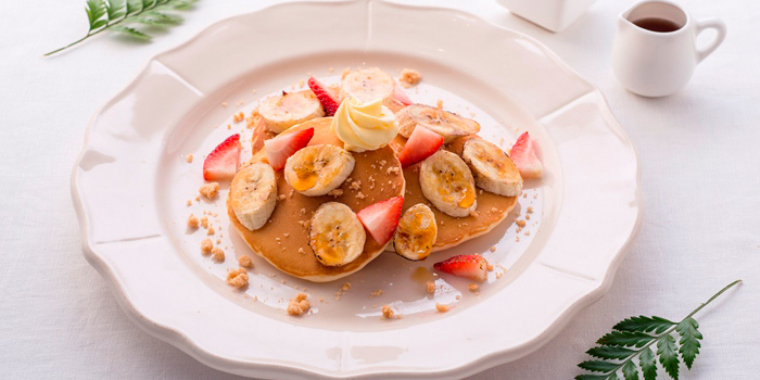 Banana Pancake from Butter Cup at 36 Amari Residence, New Petchaburi Rd Bang Kapi, Huai Khwang Bangkok