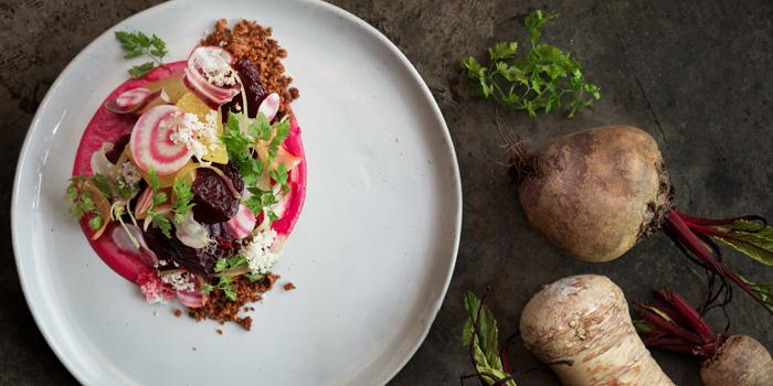 Beetroot Salad from Le cochon Blanc at 26 Soi Phrom Chit Khlong Tan Nuea, Watthana Bangkok