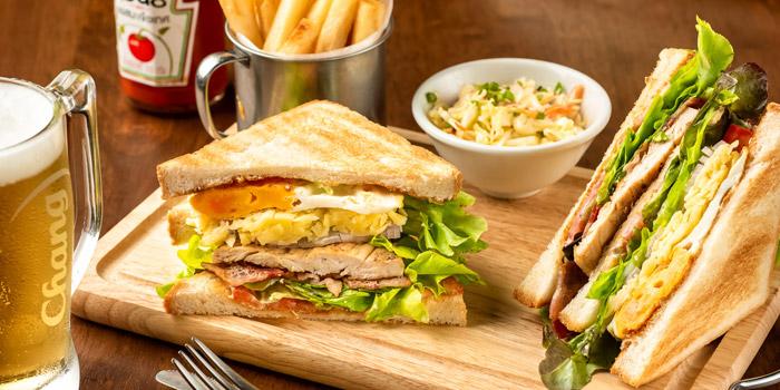 Club Sandwich from The Kiwi Pub Sports & Grill at 4/4-5 Soi Preeda, Soi Sukhumvit 8, Khlong Toei Bangkok
