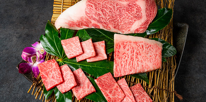 Beef Platter from Magosaburo at Ngee Ann City in Orchard, SingaporeEbi from Magosaburo at Ngee Ann City in Orchard, Singapore