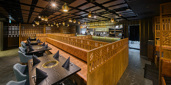 Interior of Magosaburo at Ngee Ann City in Orchard, Singapore